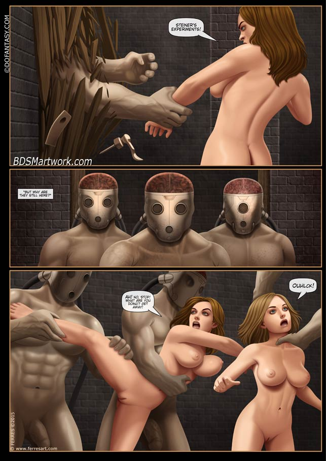 Shorties part 2, bdsm comics by Ferres