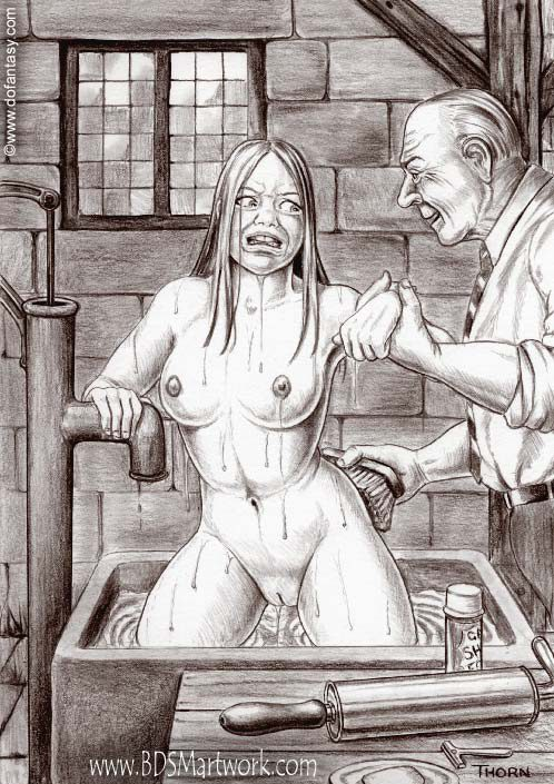 Cartoon bdsm art